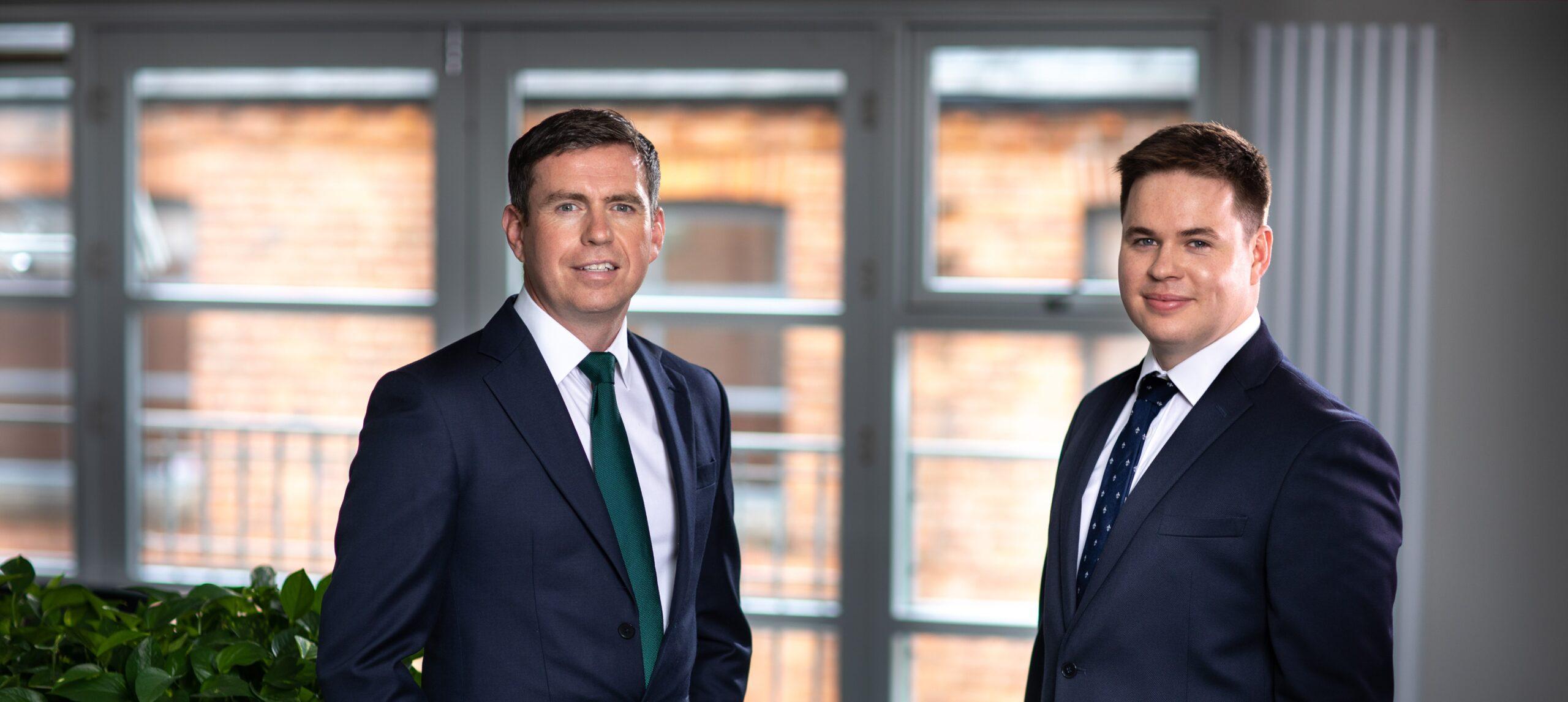 Donall Caherty and Matthew O'Brien